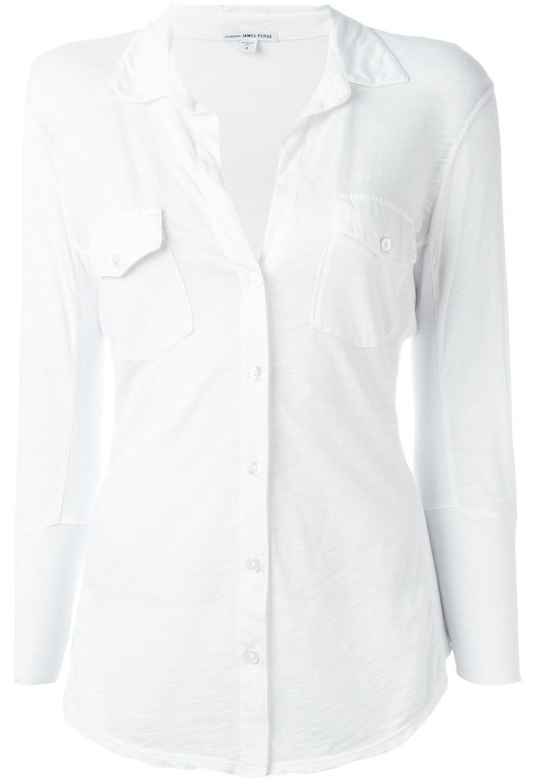James Perse three-quarters shirt