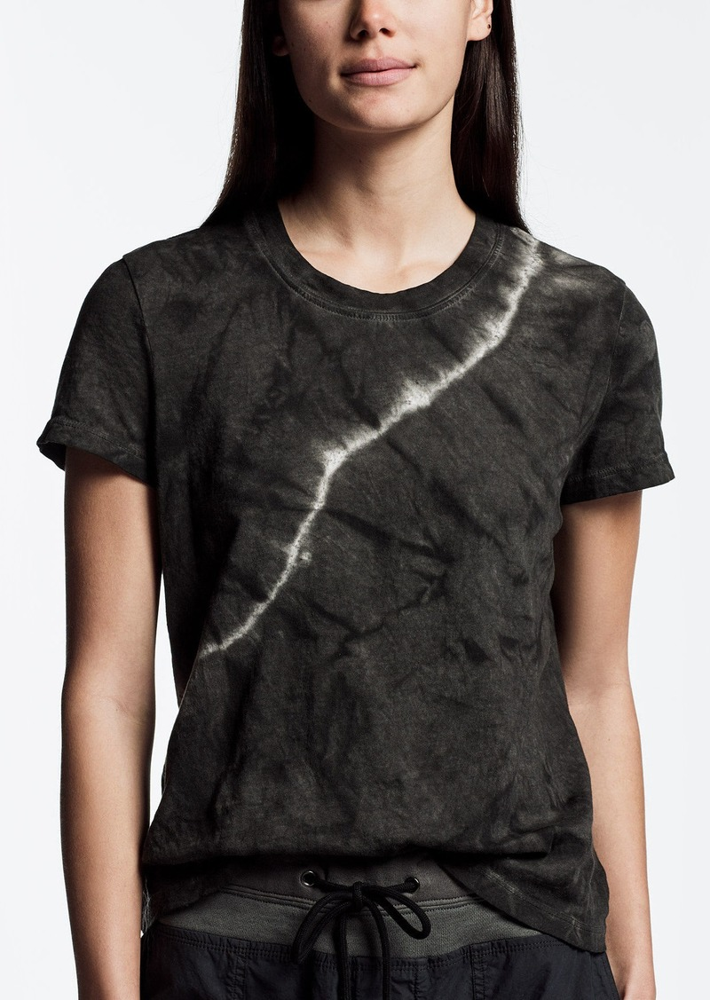 James Perse TIE DYED VINTAGE LITTLE BOY TEE