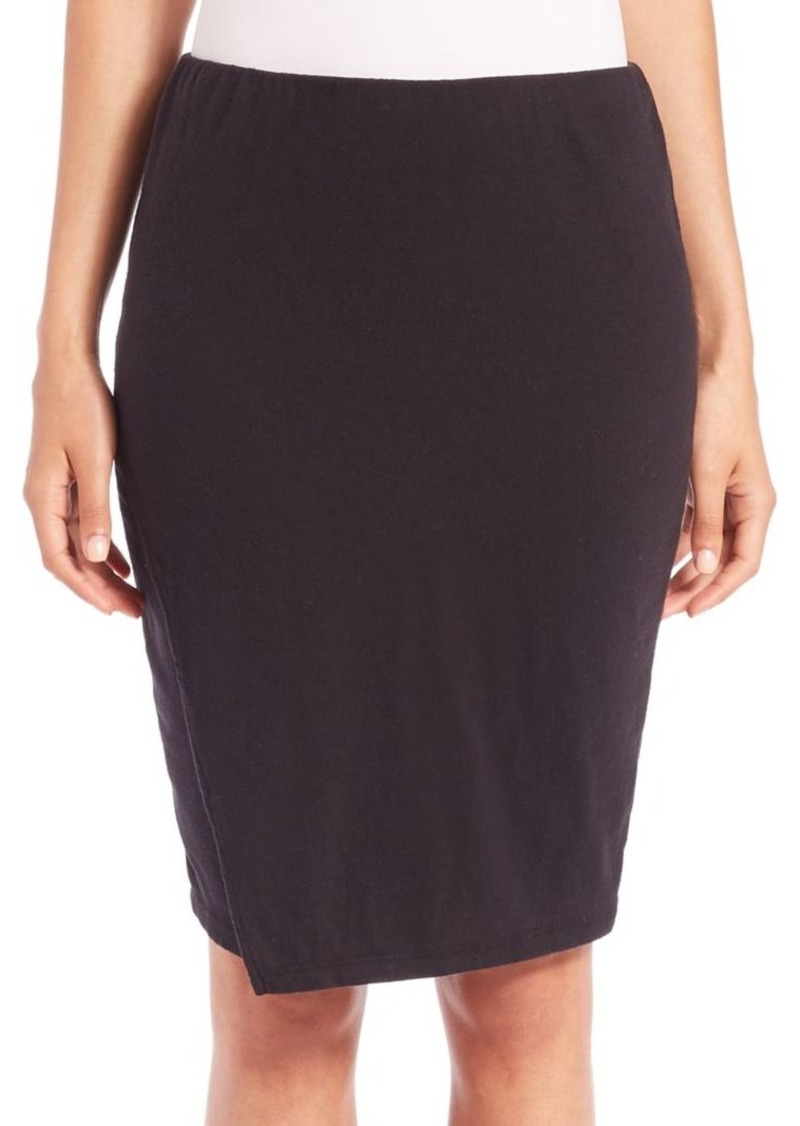 James Perse Tuck Wrap Skirt