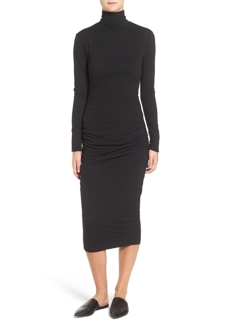 b30ad9a20bd3 James Perse James Perse Turtleneck Midi Dress Now  134.98