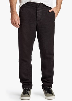 James Perse TWILL LINEN UTILITY PANT