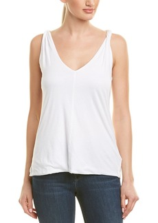 James Perse Twisted Shell Top