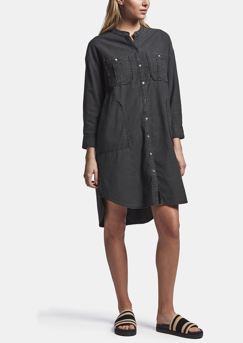 James Perse UTILITY SHIRT DRESS