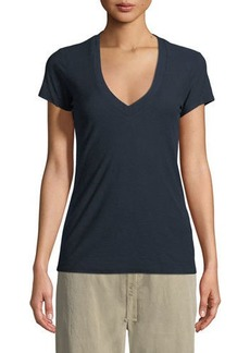 James Perse V-Neck Short Sleeve Tee
