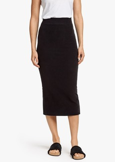 James Perse VELVET CORDUROY SKIRT