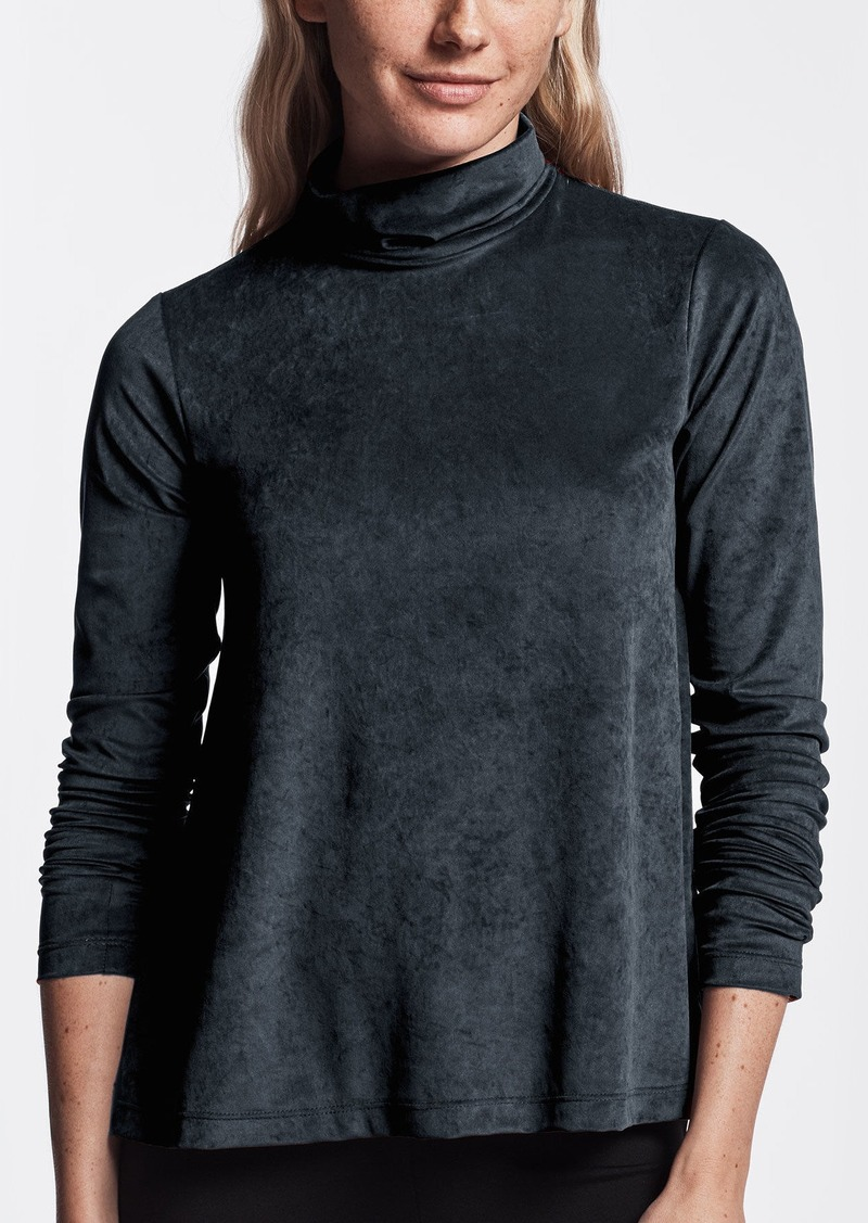 James Perse VELVET TURTLENECK