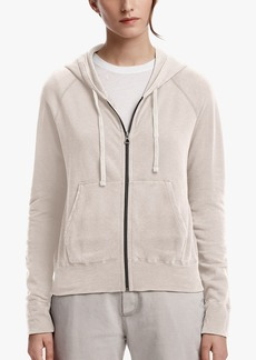 James Perse VINTAGE FLEECE LONG SLEEVE HOODIE