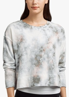 James Perse VINTAGE FLEECE TIE DYED SWEATSHIRT
