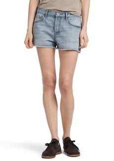 James Perse Vintage High Waist Denim Shorts