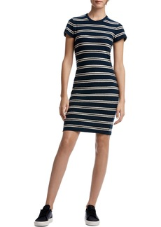 James Perse Vintage Stripe T-Shirt Dress