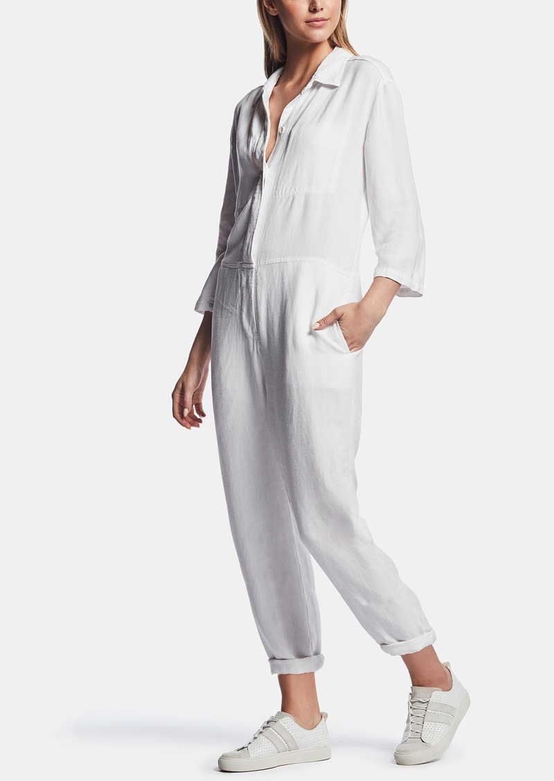 James Perse VISCOSE LINEN JUMPSUIT