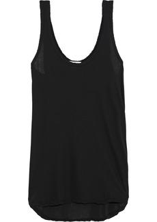 James Perse Woman Cotton-jersey Tank Black