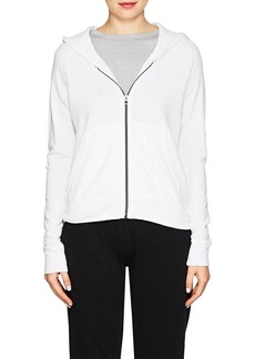 James Perse Women's Cotton French Terry Hoodie