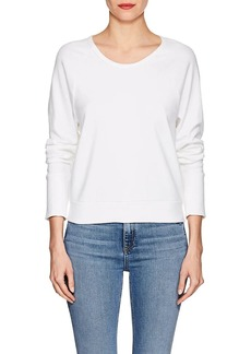 James Perse Women's Cotton Jersey Scoopneck Top