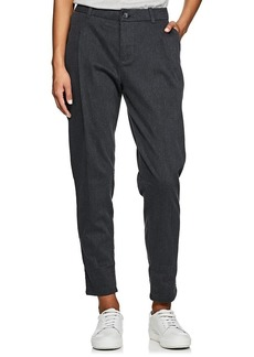 James Perse Women's Cotton Tapered Trousers