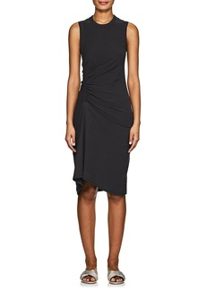James Perse Women's Ruched Cotton Tank Dress