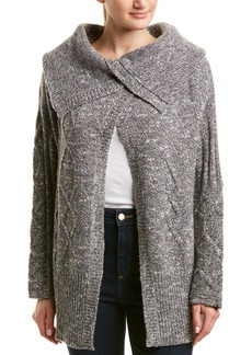 James Perse Wool Away Cable Cardigan