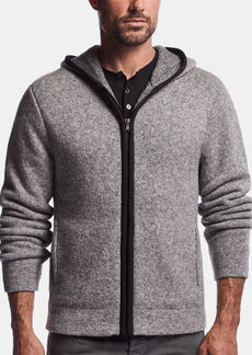 James Perse WOOL BLEND DOUBLE LAYER HOODIE