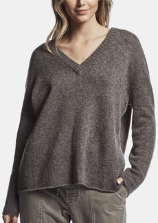 James Perse WOOL CASHMERE MARLED SWEATER