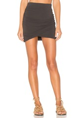 James Perse Wrap Skinny Skirt