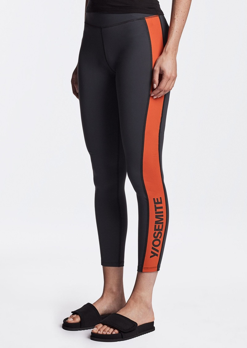 James Perse Y/OSEMITE CONTRAST PANEL LEGGING