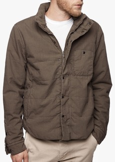 James Perse YOSEMITE COTTON RIPSTOP QUILTED SHIRT