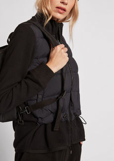 James Perse Y/OSEMITE MIXED MEDIA PUFFER JACKET