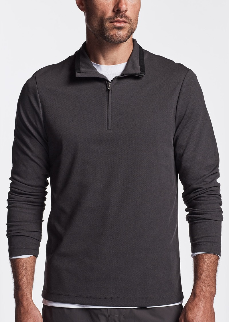 James Perse Y/OSEMITE PERFORMANCE PIQUE ZIP TEE
