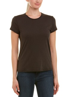 James Perse Zig Zag Stitch Wool-Blend T-Shirt
