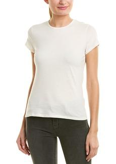 James Perse Zigzag Stitch Wool-Blend T-Shirt