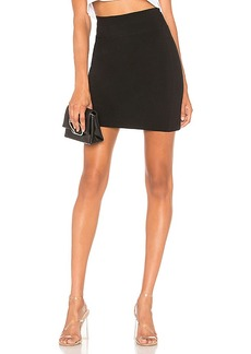 James Perse Zip Back Panel Skirt