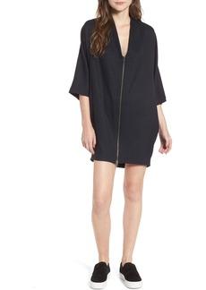 James Perse Zip Cocoon Dress