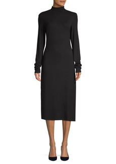 James Perse Long-Sleeve Midi Dress