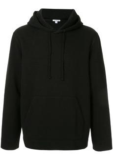 James Perse loose-fit panelled hoodie