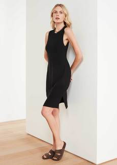James Perse Micro Sueded Tank Dress - Black