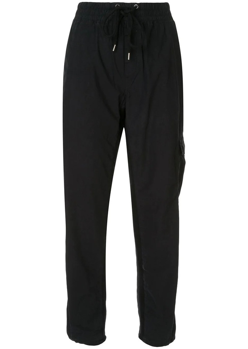 James Perse Mixed Media cargo trousers