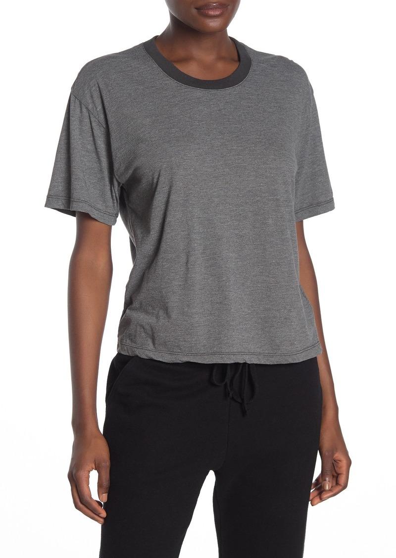 James Perse Oversize Crop T-Shirt