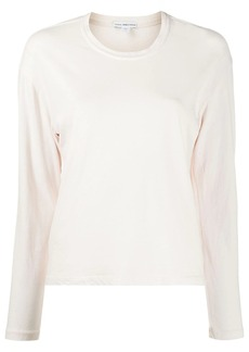 James Perse plain long-sleeved top