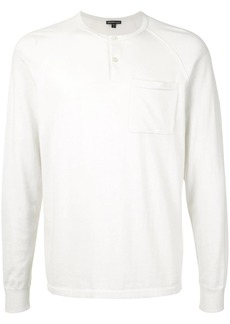 James Perse raglan sleeve cashmere sweater