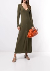 James Perse ribbed knit cardigan dress