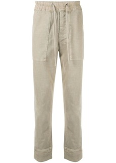 James Perse Rigid jersey jogger trousers