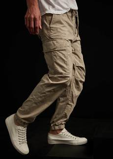 James Perse Ripstop Cargo Pant - Pug Pigment