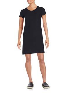 James Perse Roll-Sleeve T-Shirt Dress
