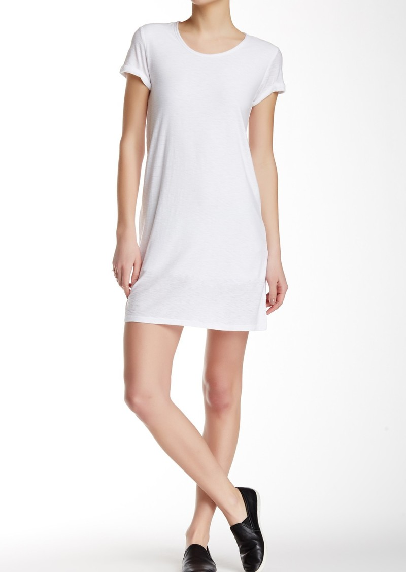James Perse Rolled Sleeve T-Shirt Dress