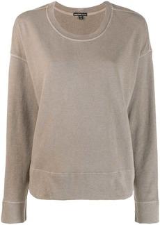 James Perse round neck sweater