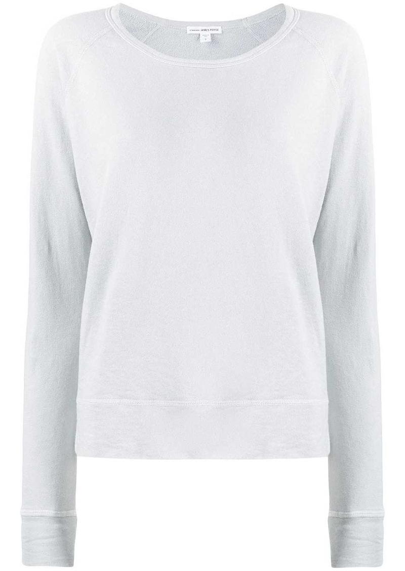 James Perse round neck sweatshirt