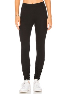 James Perse Ruched Ankle Legging