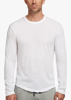 James Perse Shirttail Hem Crew - White