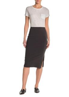 James Perse Side Split Skirt