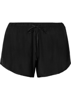 James Perse Silk-charmeuse Shorts
